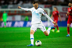 Josip Iličić of Slovenia during the 2020 UEFA European Championships group G qualifying match between Slovenia and Poland at SRC Stozice on September 6, 2019 in Ljubljana, Slovenia. Photo by Vid Ponikvar / Sportida