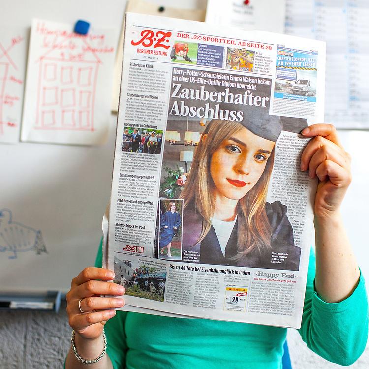 DEU Deutschland Germany Berlin Details in den Redaktionsräumen der TAZ