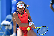 Johanna KONTA (GBR) during the women's semi-final at the Aegon Open Nottingham at Nottingham Tennis centre, Nottingham, United Kingdom on 17 June 2017. Photo by Jon Hobley.