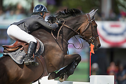 Etter Pellegrin Marie (FRA) - Admirable <br /> CP International Grand Prix presented by Rolex<br /> Spruce Meadows Masters - Calgary 2014<br /> © Dirk Caremans