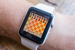 Chess game on an Apple Watch