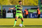 Forest Green Rovers Liam Shephard(2) during the EFL Sky Bet League 2 second leg Play Off match between Forest Green Rovers and Tranmere Rovers at the New Lawn, Forest Green, United Kingdom on 13 May 2019.