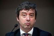 Rome jun 15th 2016, debate on justice and magistrature. In the picture Andrea Orlando, Minister of Justice  - © PIERPAOLO SCAVUZZO