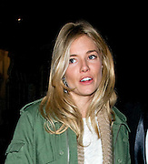 08.MARCH.2011. LONDON<br /> <br /> ACTRESS SIENNA MILLER LEAVING THE THEATRE ROYAL IN HAYMARKET, LONDON, AFTER PERFORMING IN 'FLARE PATH'.<br /> <br /> BYLINE: EDBIMAGEARCHIVE.COM<br /> <br /> *THIS IMAGE IS STRICTLY FOR UK NEWSPAPERS AND MAGAZINES ONLY*<br /> *FOR WORLD WIDE SALES AND WEB USE PLEASE CONTACT EDBIMAGEARCHIVE - 0208 954 5968*
