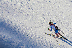 Daria Virolaynen (RUS) during Women 12.5 km Mass Start at day 4 of IBU Biathlon World Cup 2015/16 Pokljuka, on December 20, 2015 in Rudno polje, Pokljuka, Slovenia. Photo by Urban Urbanc / Sportida