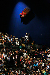 17 May 2013. New Orleans, Louisiana,  USA..A capacity crowd fills the Morial Convention Center awaiting an address from His Holiness the 14th Dalai Lama in New Orleans for the 'Resiliance - Strength through Compassion and Connection' conference. .Photo; Charlie Varley.