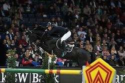 Sandgaard Thomas, (DEN), Amarone<br /> Grand Prix of Stuttgart <br /> Longines FEI World Cup<br /> Stuttgart - German Masters 2015<br /> © Hippo Foto - Stefan Lafrentz
