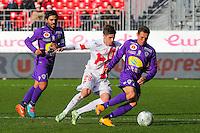 Benoit LESOIMIER / Manuel PEREZ  - 20.12.2014 - Brest / Ajaccio - 18eme journee de Ligue 2 -<br /> Photo : Vincent Michel / Icon Sport