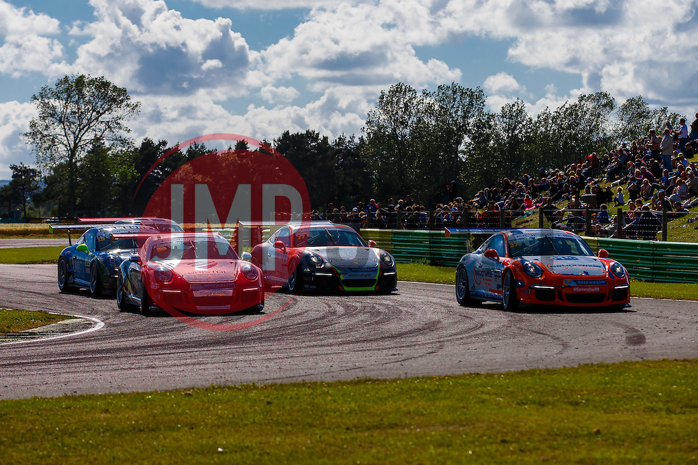 Dino Zamparelli | Bristol Sport Racing | #88 Porsche 911 GT3 Cup car | Porsche Carrera Cup GB | Race 2 - Mandatory byline: Rogan Thomson/JMP - 07966 386802 - 28/06/2015 - SPORT - MOTORSPORT - North Yorkshire, England - Croft Circuit - BTCC Meeting Day 2.