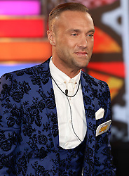 © Licensed to London News Pictures. 03/01/2017. London, UK, Calum Best, Celebrity Big Brother: WInter 2017 - Live Launch Show, Photo credit: Brett Cove/LNP