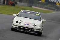 #81 Spencer / Cox Honda Integra 1800 during the CSCC Meteor Suspension Open Series at Oulton Park, Little Budworth, Cheshire, United Kingdom. October 15 2016. World Copyright Peter Taylor/PSP. <br /> Copy of publication required for printed pictures.  Every used picture is fee-liable. http://archive.petertaylor-photographic.co.uk