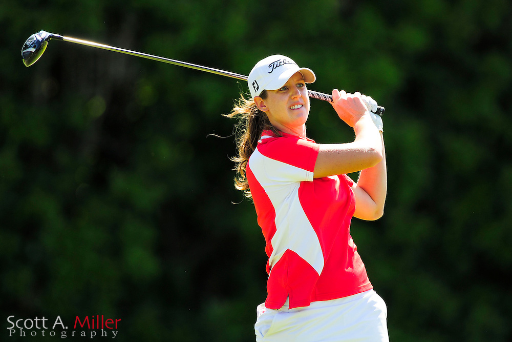 Nicole Vandermade during the final round of the Symetra Tour's Guardian Retirement Championship at Sara Bay in Sarasota, Florida April 28, 2013. ..©2013 Scott A. Miller