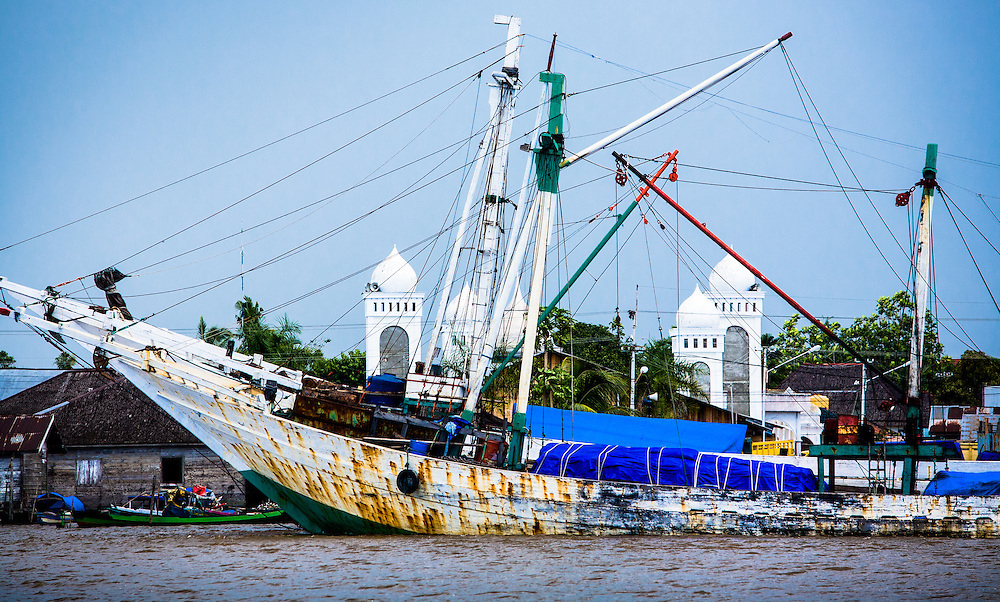 Where: Indonesia.<br /> Captured a cargo vessel and mosque.