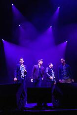 Blue in concert, Birmingham