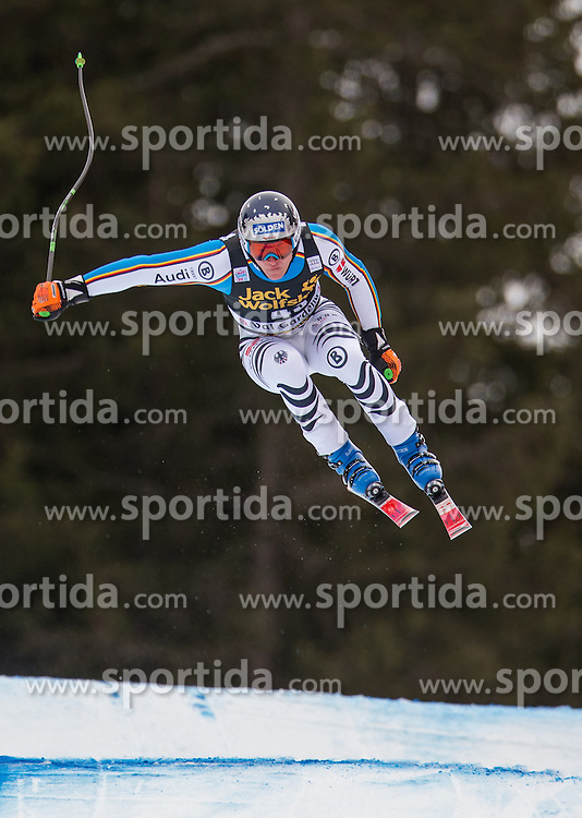 16.12.2015, Saslong, Groeden, ITA, FIS Ski Weltcup, Herren, Abfahrt, 1. Training, im Bild Thomas Dressen (GER) // Thomas Dressen of Germany in action 1st downhill practice of the Groeden FIS Ski Alpine World Cup at the Saslong Course in Gardena, Italy on 2015/12/16. EXPA Pictures © 2015, PhotoCredit: EXPA/ Johann Groder