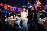 ELIZABETH HURLEY, Grey Goose character and cocktails. The Elton John Aids Foundation Winter Ball. off Nine Elms Lane. London SW8. 30 October 2010. -DO NOT ARCHIVE-© Copyright Photograph by Dafydd Jones. 248 Clapham Rd. London SW9 0PZ. Tel 0207 820 0771. www.dafjones.com.