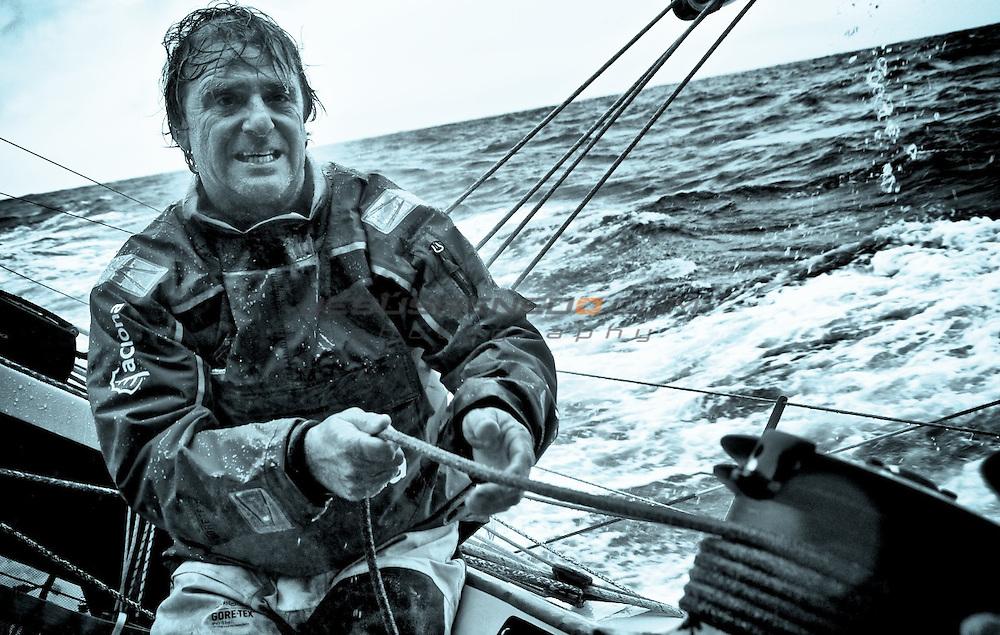 Spanish offshore sailor, Volvo Ocean Race,Barcelona World race veteran, Pachi Rivero