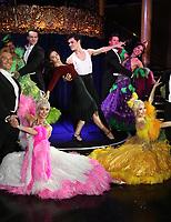 Zizi Strallen, Jonny Labey, Strictly Ballroom The Musical - Photocall, Café de Paris, London UK, 14 February 2018, Photo by Richard Goldschmidt