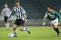 Fotball<br /> T-Mobile Bundesliga Østerrike<br /> Foto: Gepa/Digitalsport<br /> NORWAY ONLY<br /> <br /> 31.10.2007<br /> SK Sturm Graz vs SV Ried. Bild zeigt Mario Haas (Sturm) und Harun Erbek (Ried)