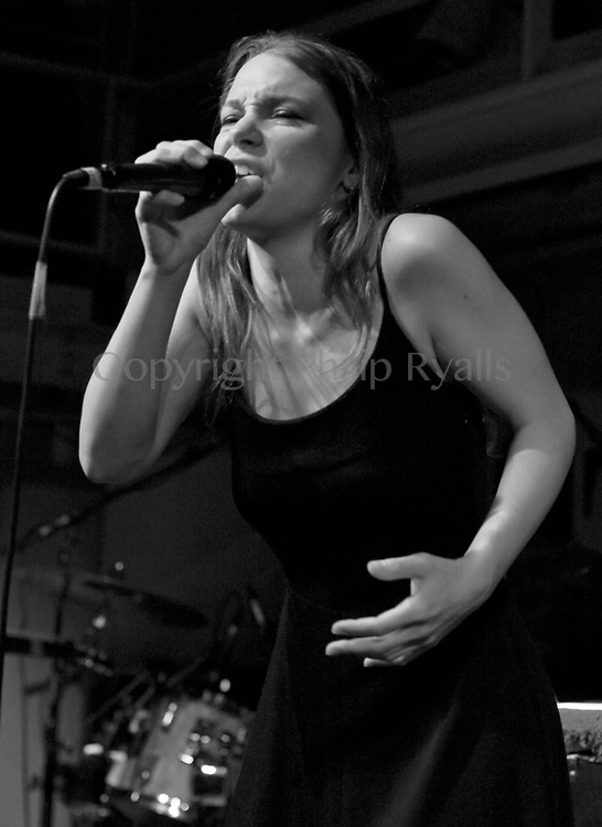 LONDON, UK - APRIL 04: Lhasa De Sela performs on stage at The Jazz Cafe on April 22nd, 2004 in London, United Kingdom. (Photo by Philip Ryalls/Redferns)**Lhasa De Sela