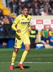 February 3, 2019 - Villarreal, Castellon, Spain - Pablo Fornals of Villarreal during the La Liga match between Villarreal and Espanyol at Estadio de la Ceramica on February 3, 2019 in Vila-real, Spain. (Credit Image: © Maria Jose Segovia/NurPhoto via ZUMA Press)