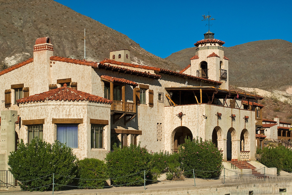 Scotty's Castle, Death Valley National Park, California