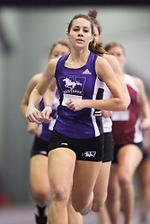 London, Ontario ---11-01-22---   Jen Bays of the Western Mustangs competes at the 2011 Don Wright meet at the University of Western Ontario, January 22, 2011..GEOFF ROBINS/Mundo Sport Images.