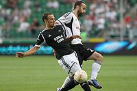 Fotball , 23. august 20123 , Europaleague<br /> Legia Warsava - Rosenborg<br />  Legia Warsaw Rosenborg League  <br /> Tore Reginiussen  , RBK<br /> <br /> Danijel Ljuboja  , LW<br /> <br /> Norway only