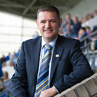 St Johnstone Chairman Steve Brown pictured at McDiarmid Park.<br /> <br /> Picture by Graeme Hart.<br /> Copyright Perthshire Picture Agency<br /> Tel: 01738 623350  Mobile: 07990 594431