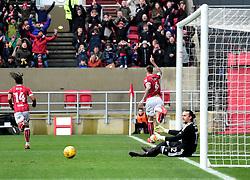 Aden Flint of Bristol City celebrates   - Mandatory by-line: Joe Meredith/JMP - 10/02/2018 - FOOTBALL - Ashton Gate Stadium - Bristol, England - Bristol City v Sunderland - Sky Bet Championship