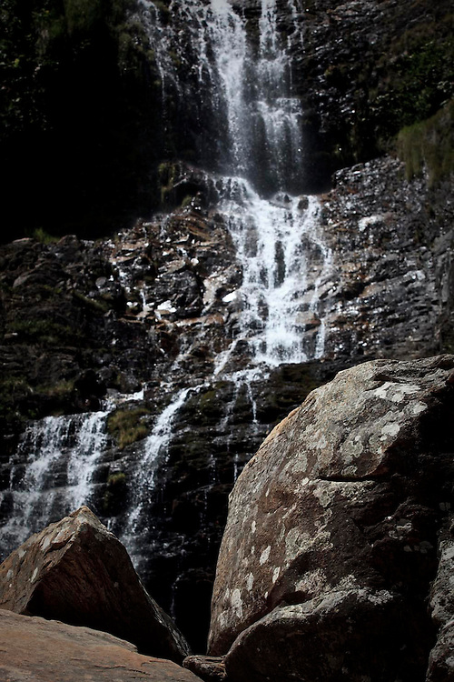 Santana do Riacho_MG, Brasil.<br /> <br /> Cachoeira no Parque Nacional da Serra do Cipo, localizado na Serra do Espinhaco em Santana do Riacho, Minas Gerais.<br /> <br /> A waterfall in National Park Serra do Cipo, located in Serra do Espinhaco in Santana do Riacho, Minas Gerais.<br /> <br /> Foto: BRUNO MAGALHAES / NITRO