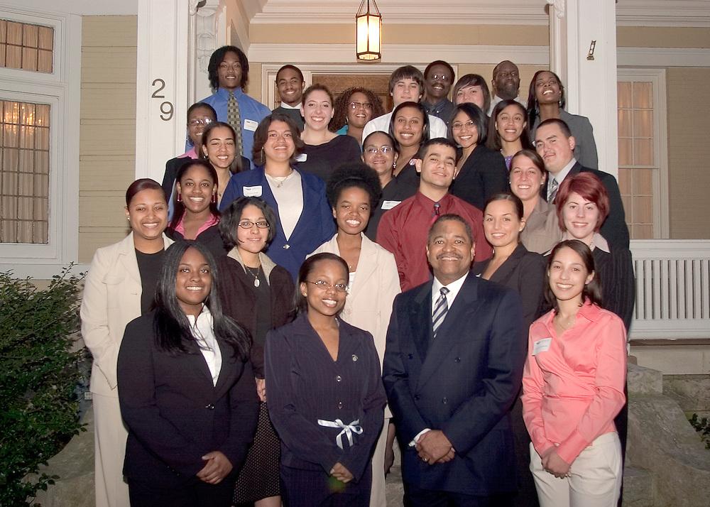 Templeton Scholars visiting President -signed releases