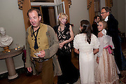 MARK CORNELL; COURTNEY LOVE; MIA SELMAN; LADY ELOISE GORDON-LENNOX;THE EARL OF MARCH, , The Goodwood Ball. In aid of Gt. Ormond St. hospital. Goodwood House. 27 July 2011. <br /> <br />  , -DO NOT ARCHIVE-© Copyright Photograph by Dafydd Jones. 248 Clapham Rd. London SW9 0PZ. Tel 0207 820 0771. www.dafjones.com.