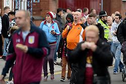 Aston Villa and Wolves fans arrive for the derby between Aston Villa and Wolves - Mandatory by-line: Dougie Allward/JMP - 15/10/2016 - FOOTBALL - Villa Park - Birmingham, England - Aston Villa v Wolverhampton Wanderers - Sky Bet Championship