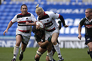 Reading, GREAT BRITAIN,  Saracens, Dave SEYNOUR, during the EDF Energy Cup, rugby match, London Irish vs Saracens at the Madejski  Stadium, ENGLAND, 30/09/2006. [Photo, Peter Spurrier/Intersport-images]..
