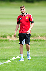 Bristol City's Steven Davies - Photo mandatory by-line: Dougie Allward/JMP - Tel: Mobile: 07966 386802 27/06/2013 - SPORT - FOOTBALL - Bristol -  Bristol City - Pre Season Training - Npower League One