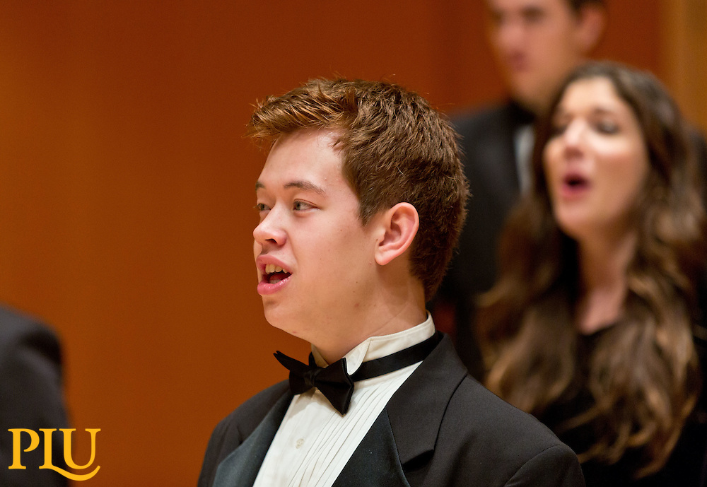 Choir of the West at Mary Baker Russell Center at PLU on, Oct. 22, 2014. (PLU Photo/John Froschauer)