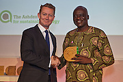Greg Barker MP with Suraj Wahab Ologburo, Toyola Stoves, Ghana