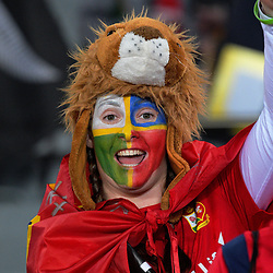 Lions fans arrive for the 2017 DHL Lions Series rugby union match between the NZ All Blacks and British & Irish Lions at Eden Park in Auckland, New Zealand on Saturday, 24 June 2017. Photo: Dave Lintott / lintottphoto.co.nz