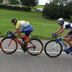 06-09-2015: Wielrennen: Ladiestour: ValkenburgVALKENBURG (NED) wielrennenDe slotetappe van de Boels Ladies Tour startte traditioneel in Bunde en voerde het peloton door het Limburgse Heuvelland met finish op de top van de Cauberg