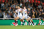 Denny Solomona to Sale and Delon Armitage to Lou during the European Rugby Challenge Cup, Pool 2, between Lyon OU and Sale Sharks on October 20, 2017 at Matmut stadium in Lyon, France - Photo Romain Biard / Isports / ProSportsImages / DPPI