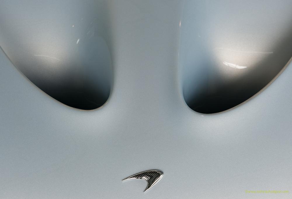 McLaren P1 bonnet