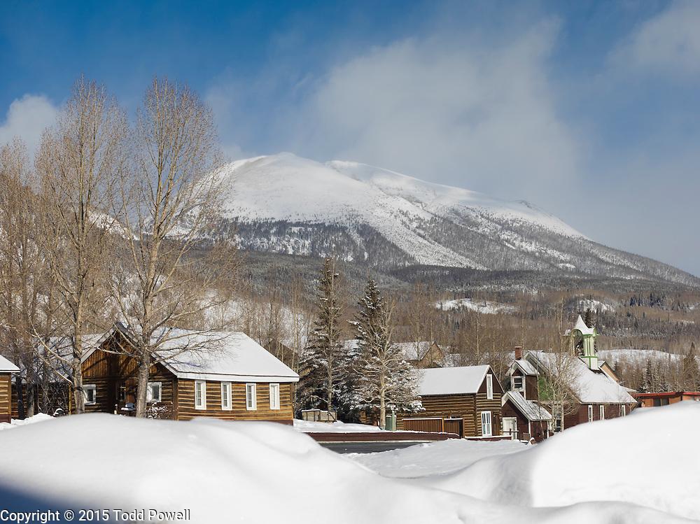 Frisco Historic Park, Winter, Frisco, Colorado