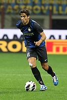 "Ricardo Alvarez Inter<br /> Milano 30/09/2012 Stadio ""San Siro""<br /> Football Calcio Serie A 2012/13<br /> Inter v Fiorentina<br /> Foto Insidefoto Paolo Nucci"