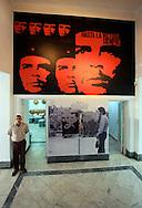 Image of Ernesto Che Guevara in Casa de las Américas, Havana, Cuba.
