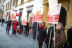 15.11.2016, Graz, AUT, Protest der KPÖ gegen die Änderungen bei der Wohnbeihilfe, im Bild ein Protest der Steirischen KPÖ gegen Änderungen bei der Wohnbeihilfe, EXPA Pictures © 2016, PhotoCredit: EXPA/ Erwin Scheriau
