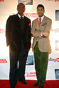 l to r: Kwame Jackson and Fonzworth Bently at The Men of Style Awards presented by Gillette Fusion and Rolling Out Urbanstyle Weekly held at the 40/40 Club on Novemeber 2, 2009 in New York City