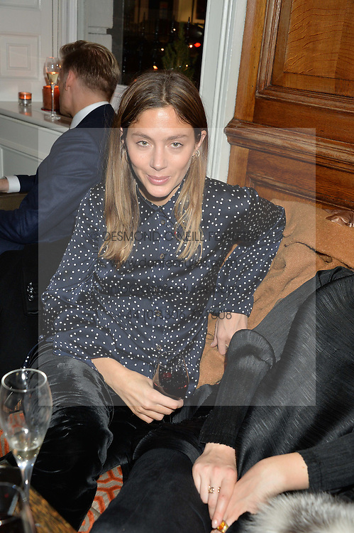 LONDON, ENGLAND 1 DECEMBER 2016: Left to right, Quentin Northcott at the Smythson & Brown's Hotel Christmas Party held at Brown's Hotel, Albemarle St, Mayfair, London, England. 1 December 2016.