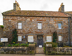 House containing St Andrews Preservation Trust in St Andrews, Fife, Scotland, UK