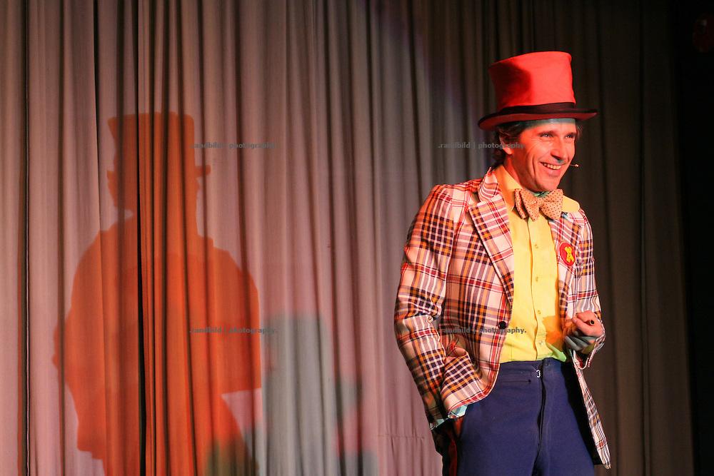 Willem Wittstamm bei einem Auftritt während der Lachparade 2008 im niedersächsischen Waddeweitz.